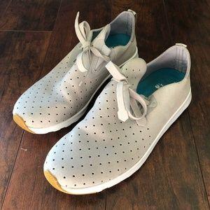 Unisex Native Apollo Moc Sneakers - Pigeon Grey